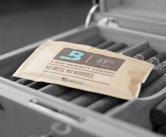 Boveda 69% on cigars