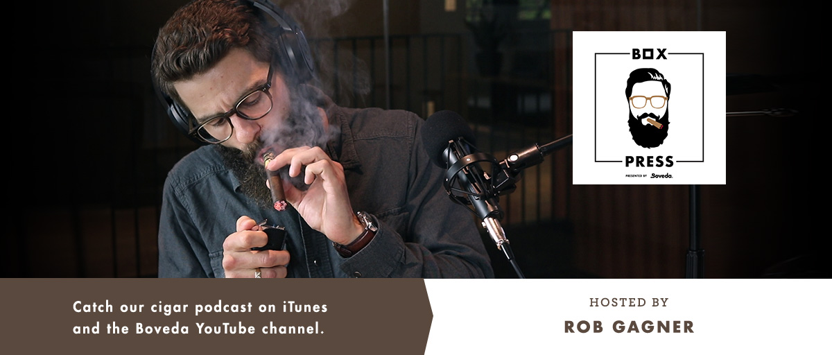 Boveda Cigar Podcast: Box Press